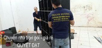 Dịch vụ chuyển nhà Quyết Đạt tại phố Trần Điền