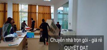 Dịch vụ chuyển nhà Quyết Đạt tại phố Nguyễn Văn Tố