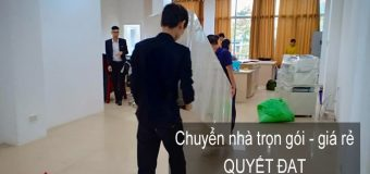 Dịch vụ chuyển nhà giá rẻ tại phố Quảng An
