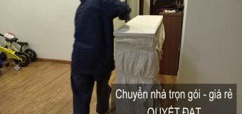 Dịch vụ chuyển nhà trọn gói Quyết Đạt tại phố Hàng Khoai