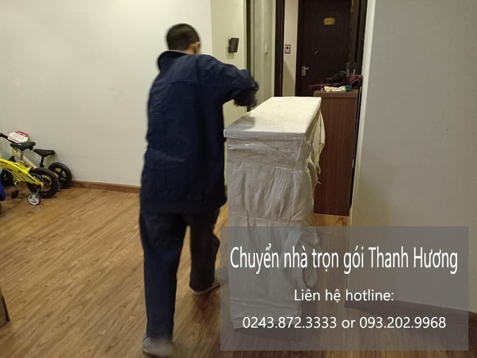 Dịch vụ chuyển nhà trọn gói hà nội tại đường Tân Tụy