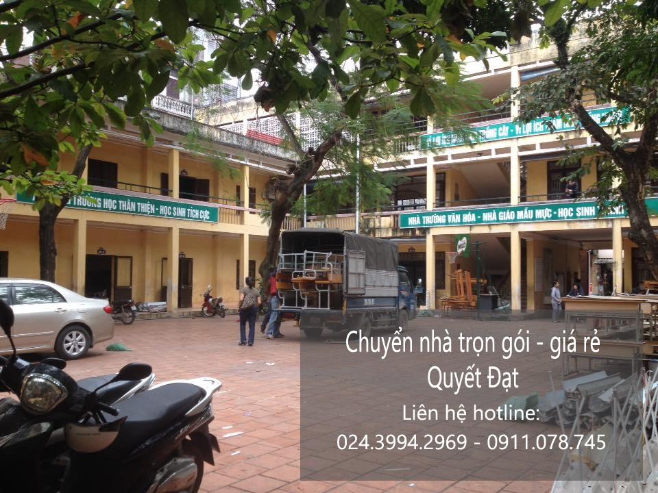 Chuyển nhà trọn gói giá rẻ tại phố Yên Nội - 093.202.9968