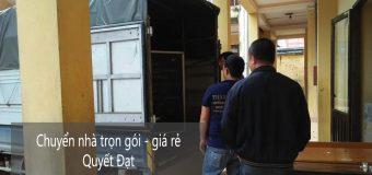 Dịch vụ chuyển nhà trọn gói giá rẻ tại phố Lương Thế Vinh