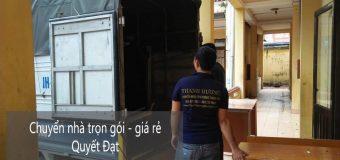 Dịch vụ chuyển nhà Quyết Đạt tại phố Trung Hòa