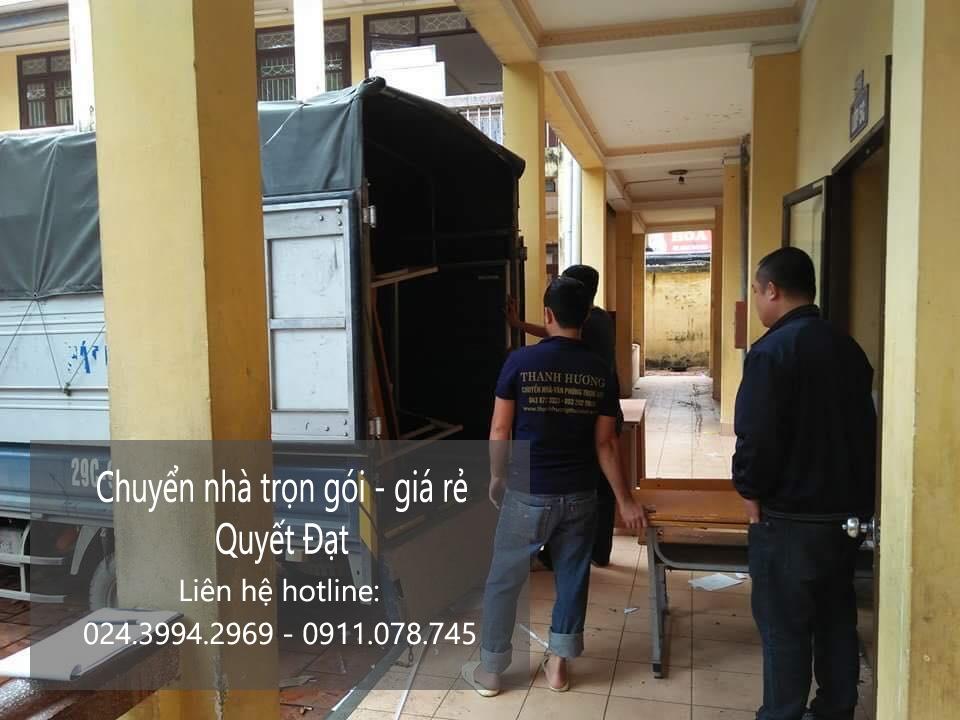Chuyển nhà trọn gói tại phố Ngô Minh Dương