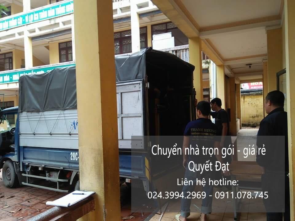 Chuyển nhà trọn gói tại phố Trần Nhân Tông