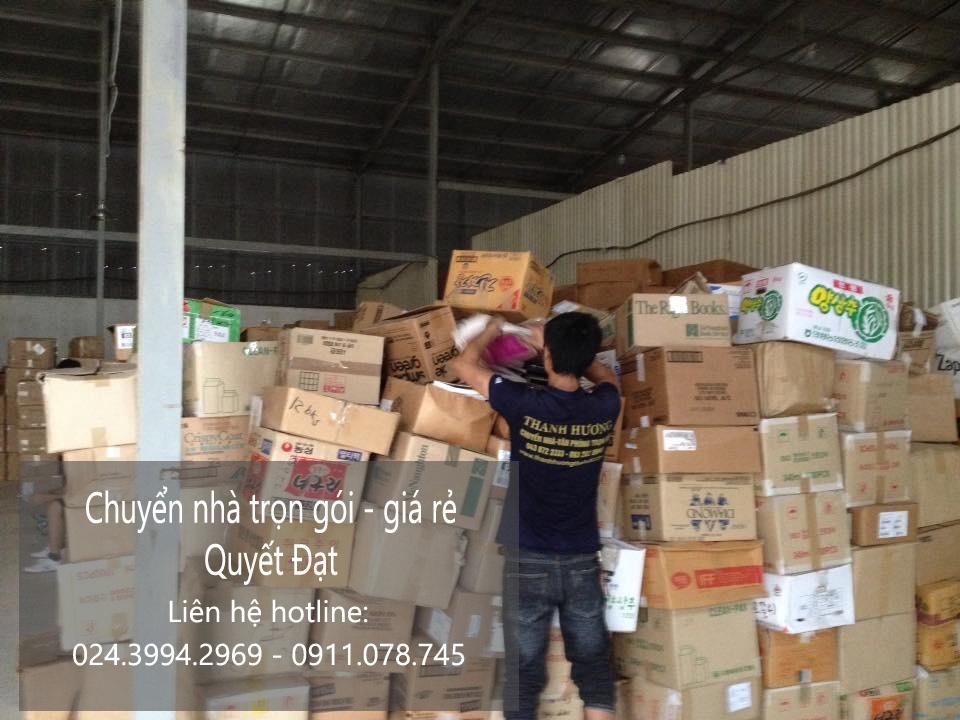 Dịch vụ chuyển kho xưởng tại phố Phú Thượng