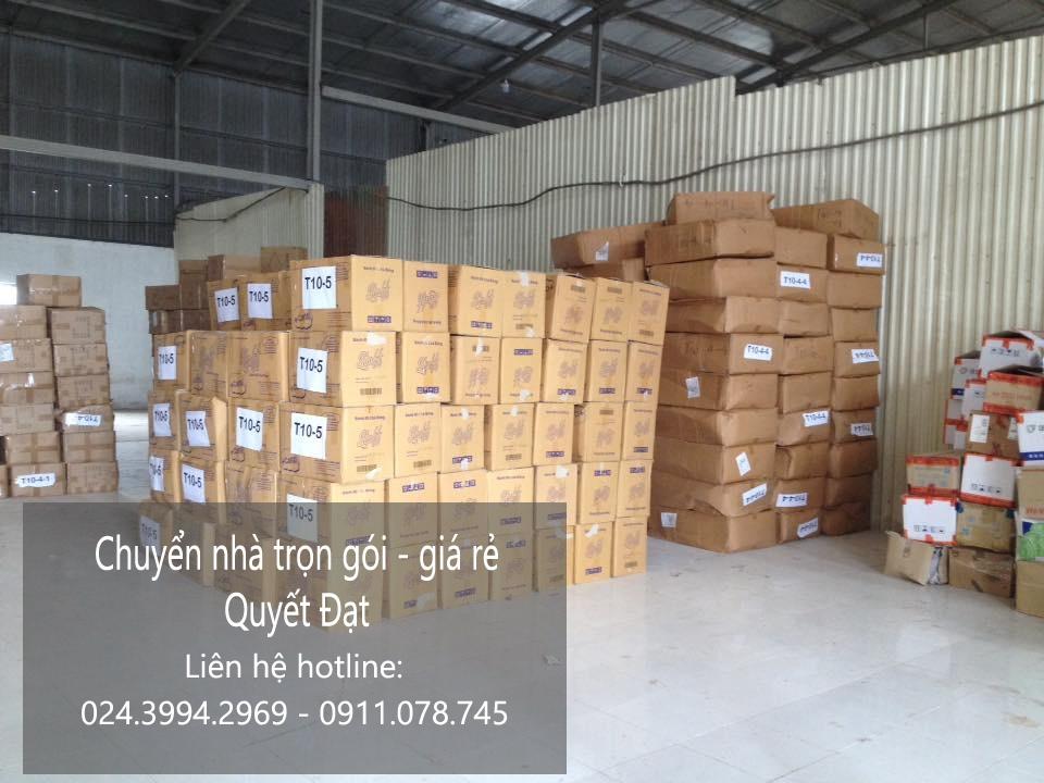 Dịch vụ chuyển nhà trọn gói tại phố Nguyễn Công Trứ