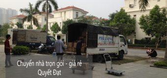 Dịch vụ chuyển nhà tại phố Vạn Bảo