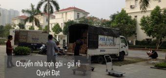 Dịch vụ chuyển nhà trọn gói Quyết Đạt tại phố Lâm Hạ