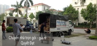 Dịch vụ chuyển nhà nhanh chóng tại phố Hoàng Như Tiếp