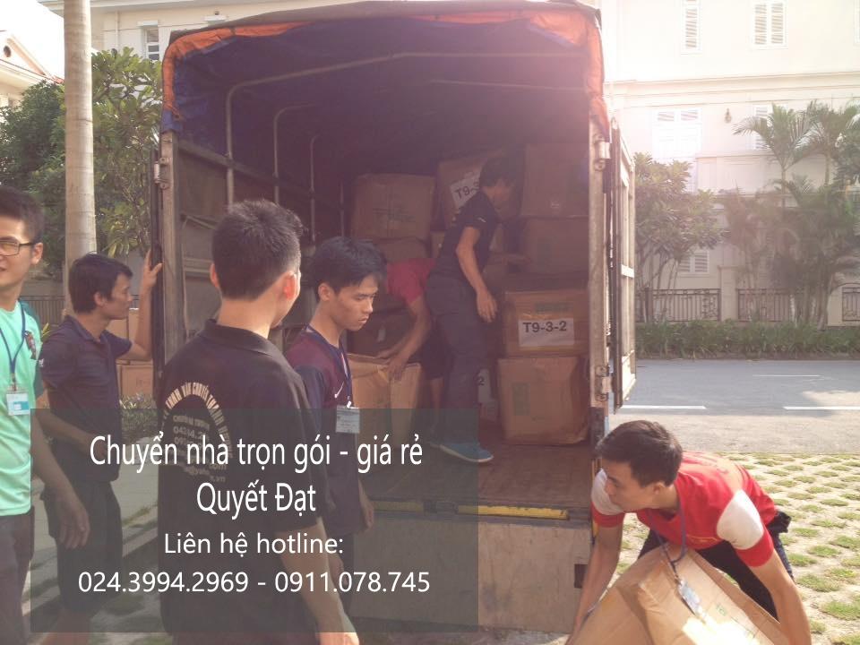 Dịch vụ chuyển nhà Quyết Đạt tại phố Ngô Xuân Quảng