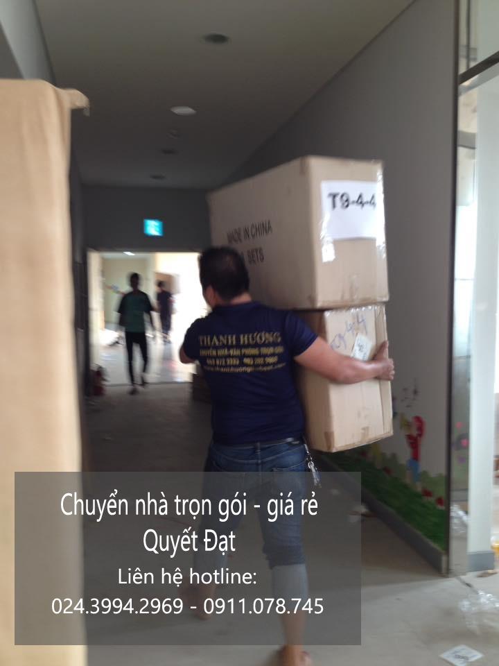Dịch vụ chuyển nhà Quyết Đạt tại phố Đông Các
