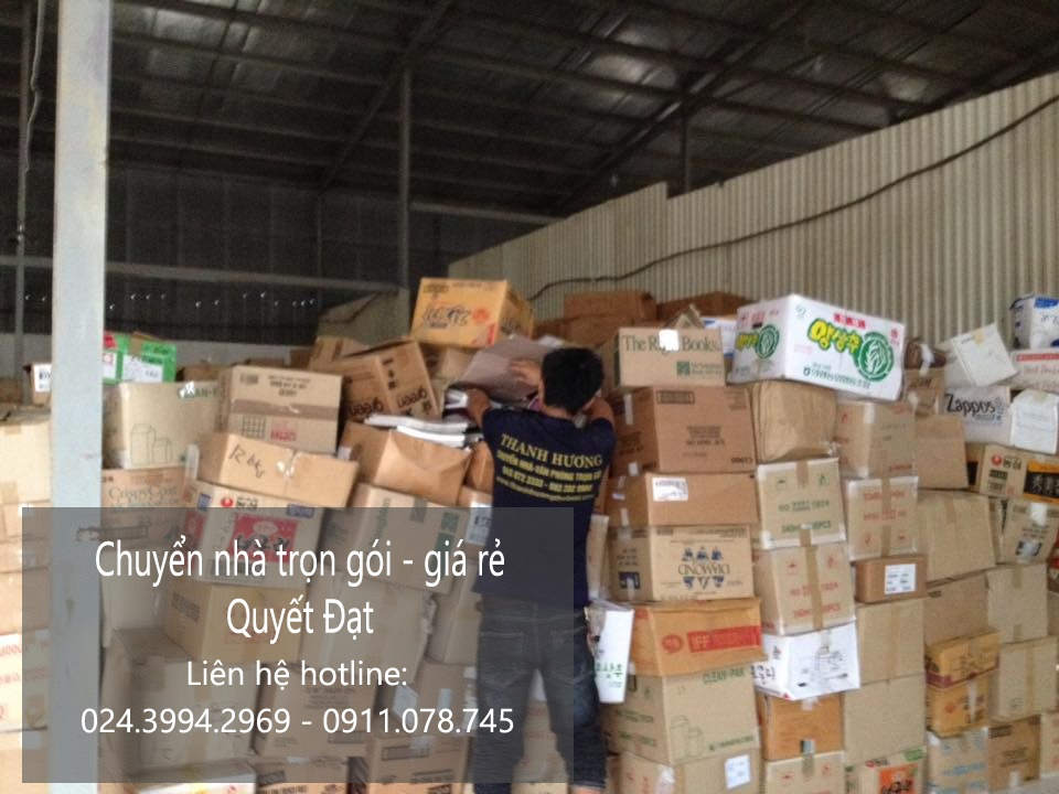 Dịch vụ chuyển nhà trọn gói tại phố Bích Cầu