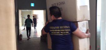 Dịch vụ chuyển nhà Quyết Đạt tại phố Lạc Chính