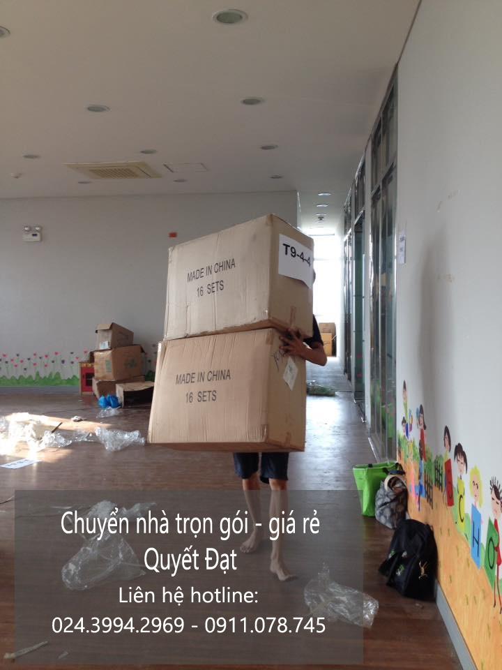 Chuyển nhà Quyết Đạt tại phố Nguyễn Du