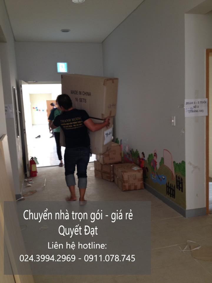 Dịch vụ chuyển nhà Quyết Đạt tại phố Bảo Linh