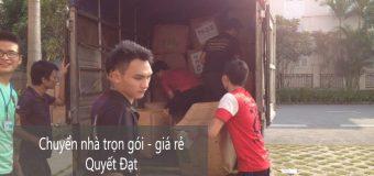 Dịch vụ chuyển nhà Quyết Đạt tại phố Hoàng Mai