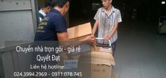 Dịch vụ chuyển nhà trọn gói Quyết Đạt tại phố Ao Sen
