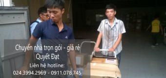 Dịch vụ chuyển nhà Quyết Đạt tại phố Đại Từ