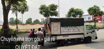 Dịch vụ chuyển nhà Quyết Đạt tại phố Ngụy Như Kon Tum