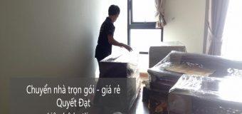 Dịch vụ chuyển nhà Quyết Đạt tại phố Giáp Nhất