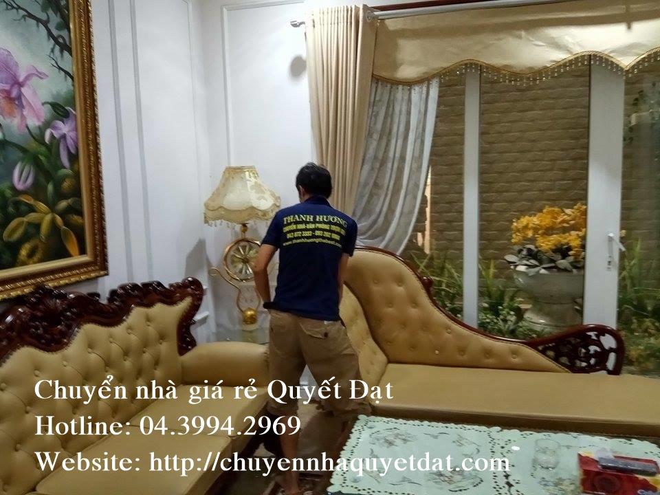 Chuyển nhà giá rẻ tại phố Dịch Vọng Hậu