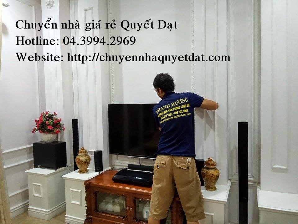 Chuyển nhà chuyên nghiệp tại phố Duy Tân