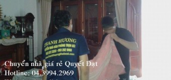 Dịch vụ chuyển nhà trọn gói tại phố Quán Thánh
