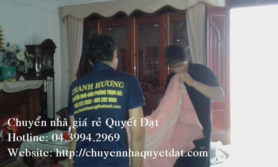 Chuyển văn phòng giá rẻ tại phố Duy Tân