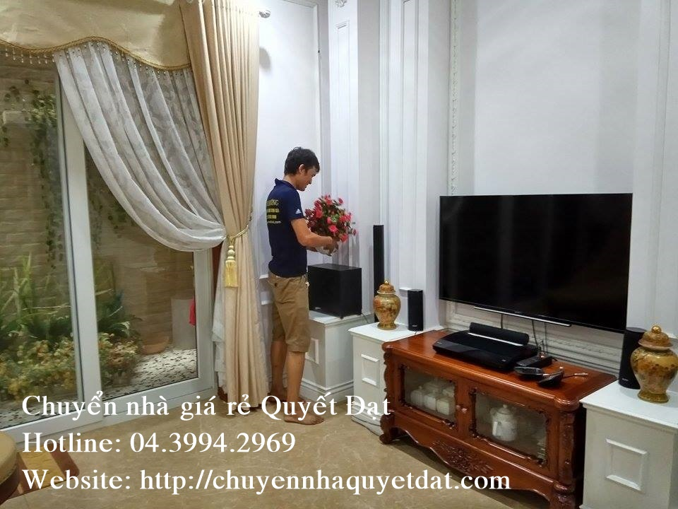 Thanh Hương chuyển nhà trọn gói tại đường Lê Đức Thọ