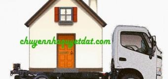 Dịch vụ chuyển nhà chuyên nghiệp giá rẻ quận Tây Hồ