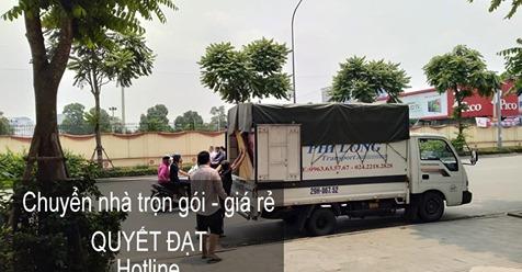 Dịch vụ chuyển nhà Quyết Đạt tại phố Lê Văn Hiến