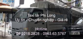 Dịch vụ chuyển nhà Quyết Đạt tại phố Nhật Chiêu