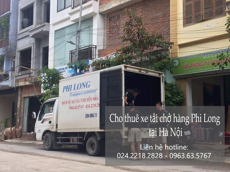 Dịch vụ chuyển nhà Quyết Đạt tại phố Phan Phù Tiên