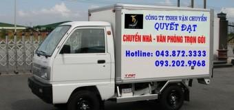 Dịch vụ cho thuê xe tải giá rẻ Quyết Đạt
