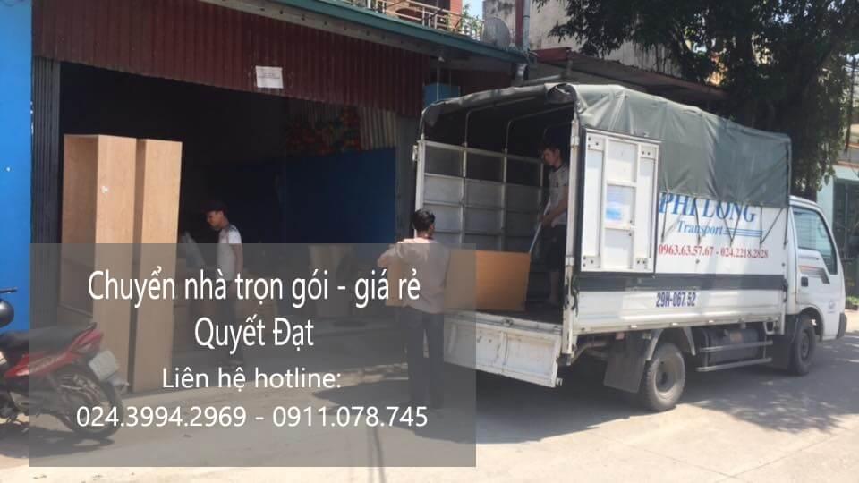 Dịch vụ vận chuyển nhà Quyết Đạt tại phố Hoàng Cầu