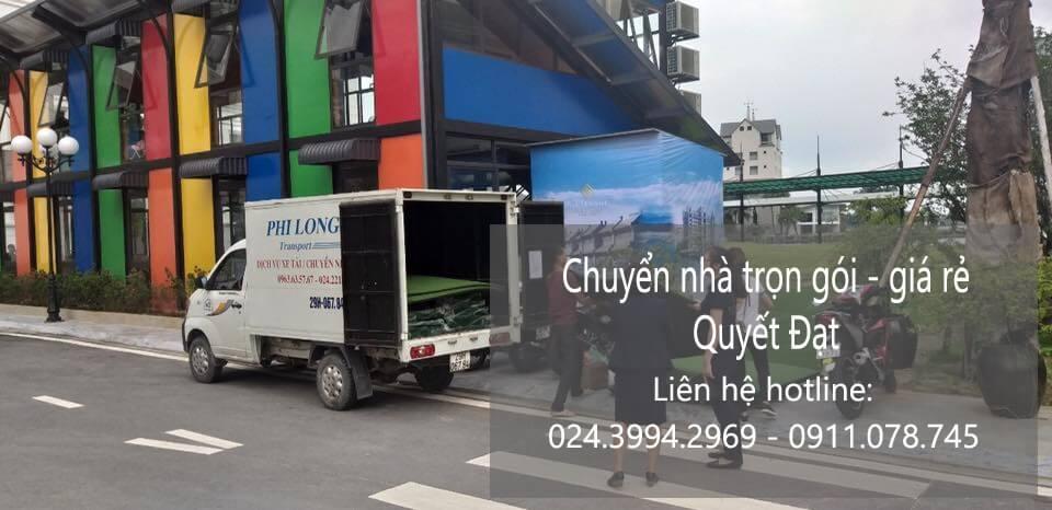Dịch vụ chuyển nhà Quyết Đạt tại phố Nguyễn Cao