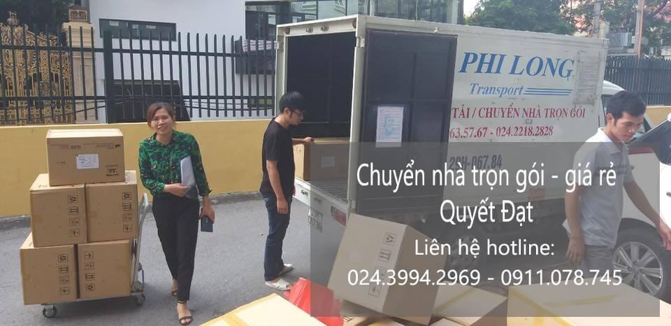 Chuyển nhà giá rẻ Quyết Đạt từ Hà Nội đi Hải Phòng
