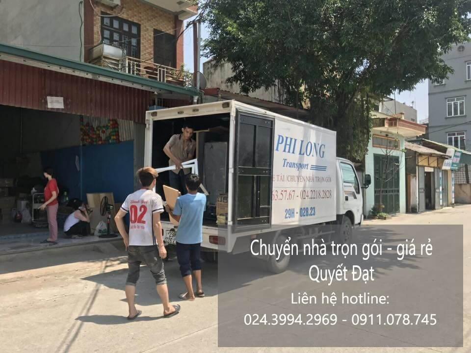 Dịch vụ chuyển nhà Quyết Đạt tại phố Cửa Nam